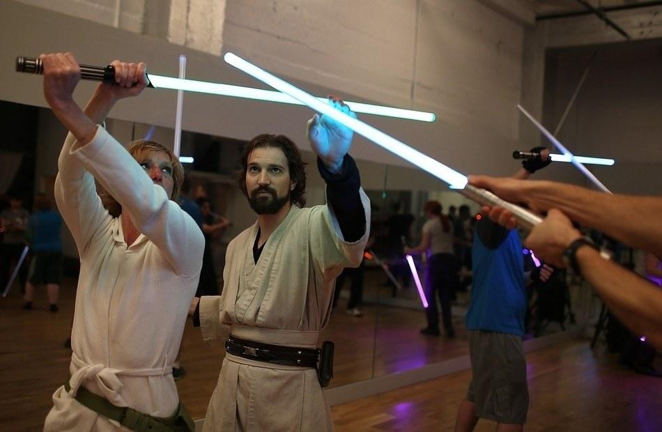 apprendre sabre laser
