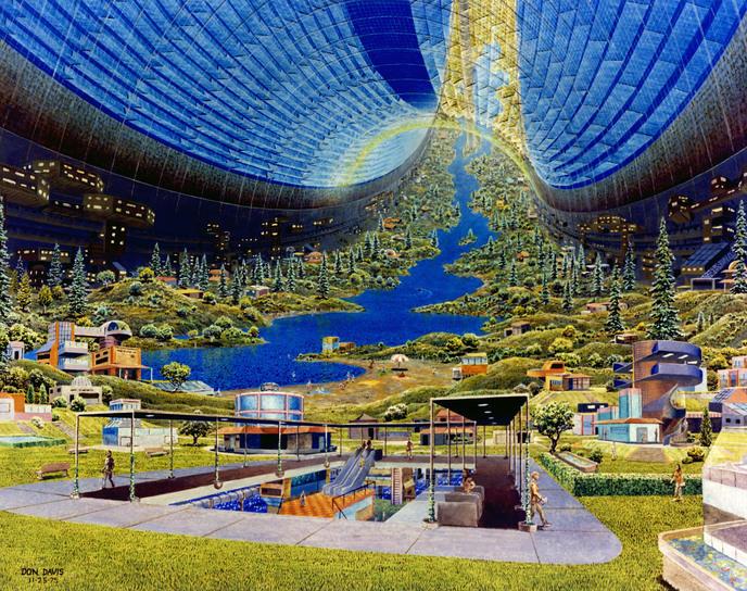 tore stanford projet ville spatiale nasa village