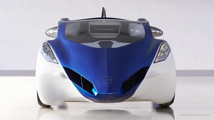 aeromobil voiture volante face