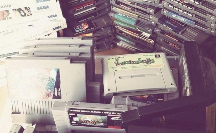 jeux My retro game box