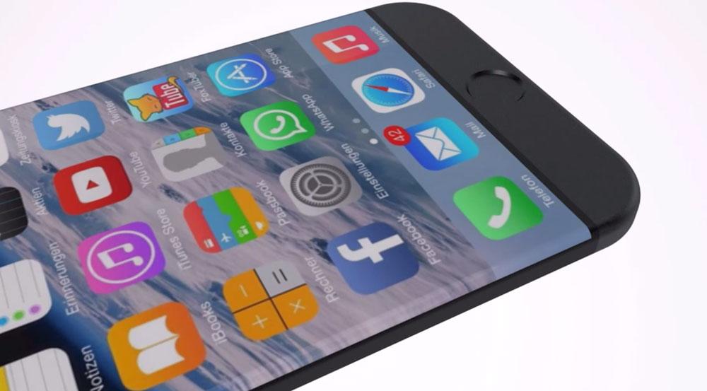 iphone 7 edge ecran incurve