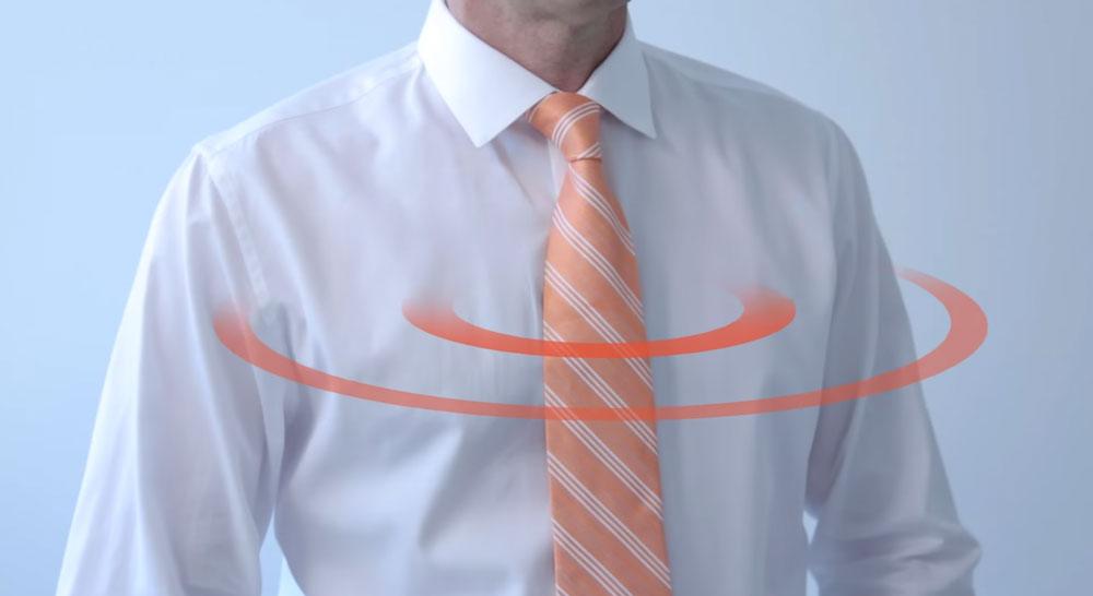 tiefie cravate connectee