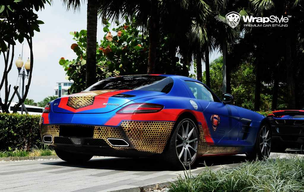 Mercedes SLS AMG de Superman