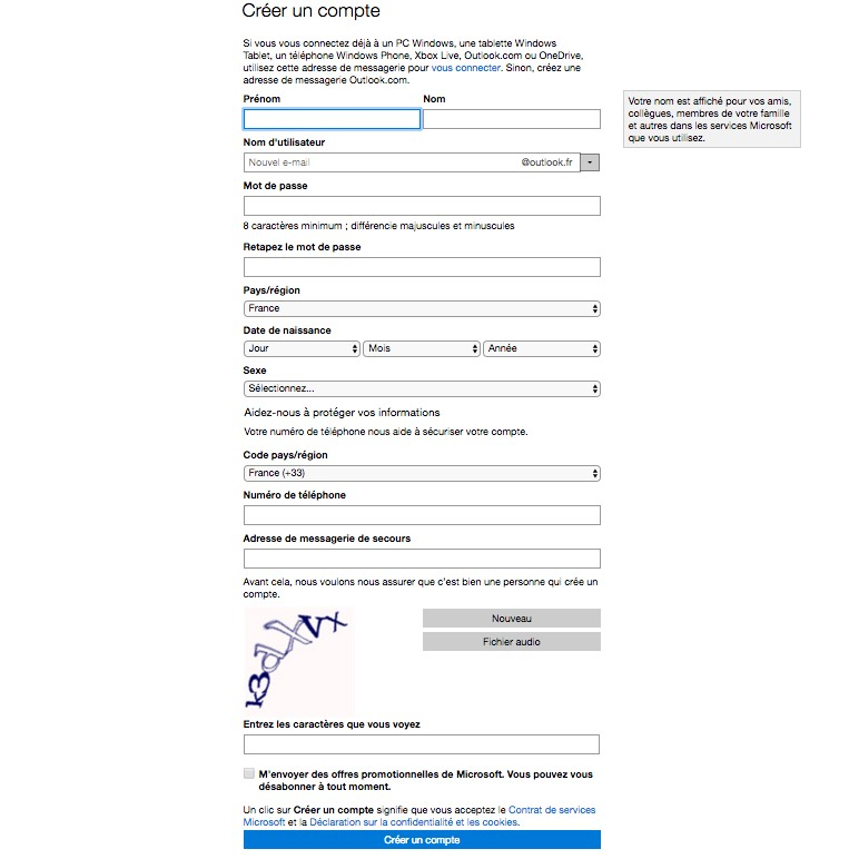 Microsoft Hotmail : comment créer une adresse email ?