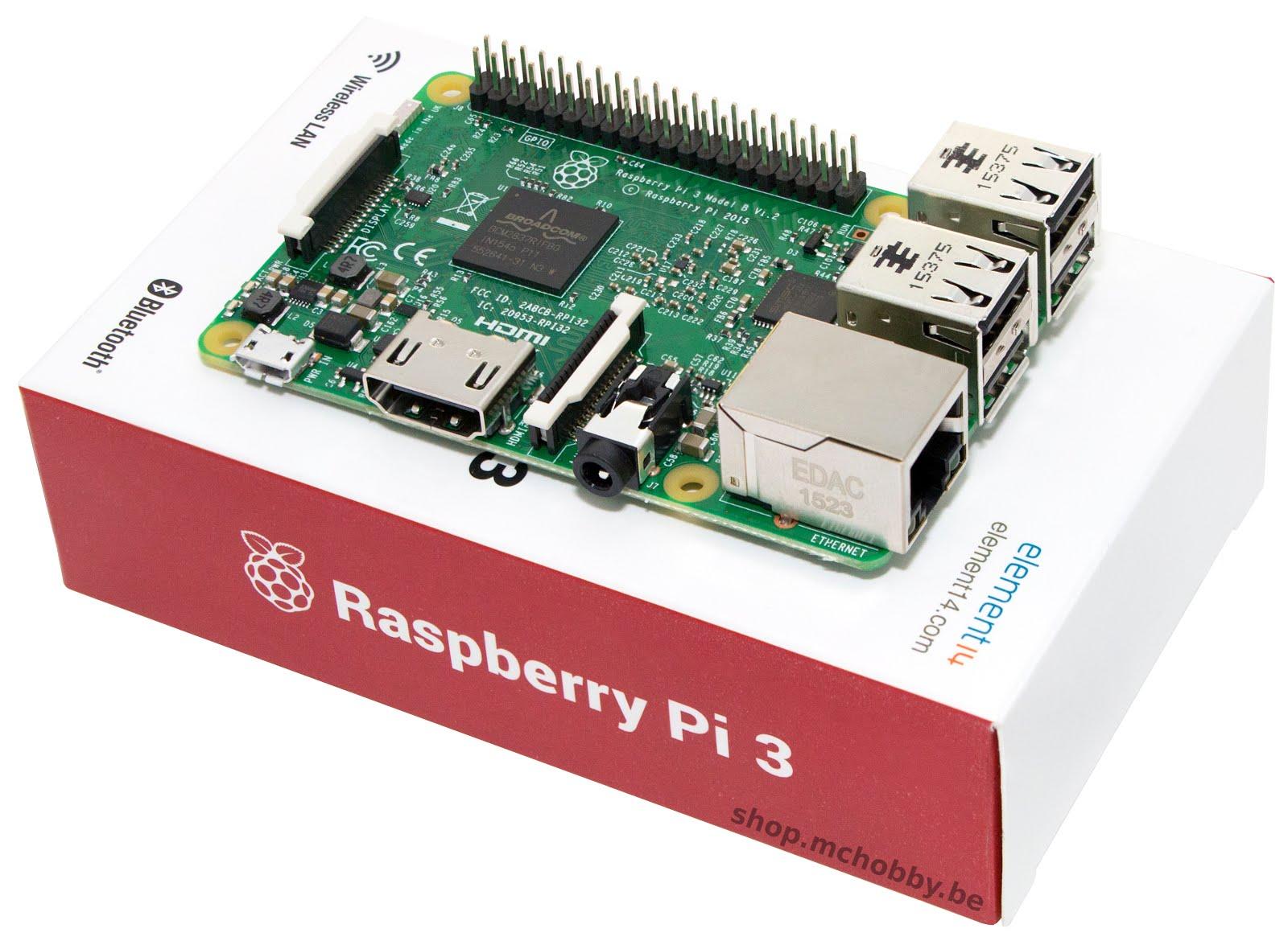 raspberry pi3 boite