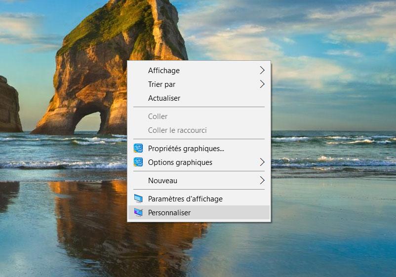 Windows 10 comment mettre les ic nes sur le bureau - Remettre corbeille sur bureau ...
