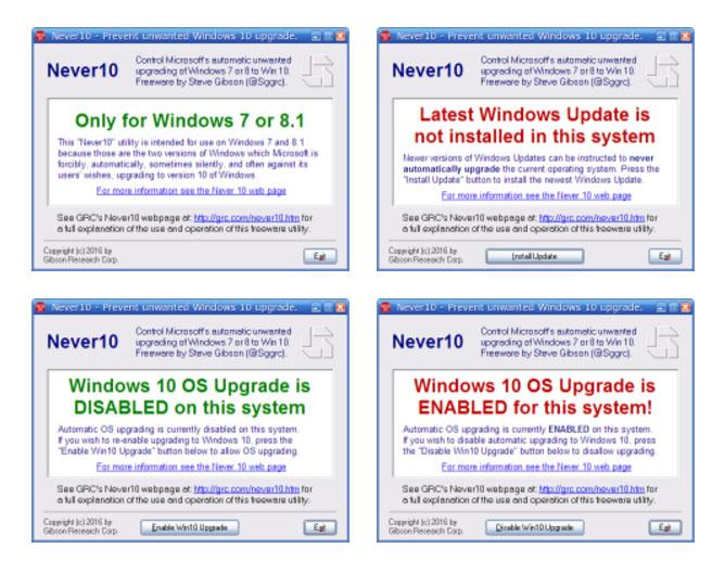 windows never10