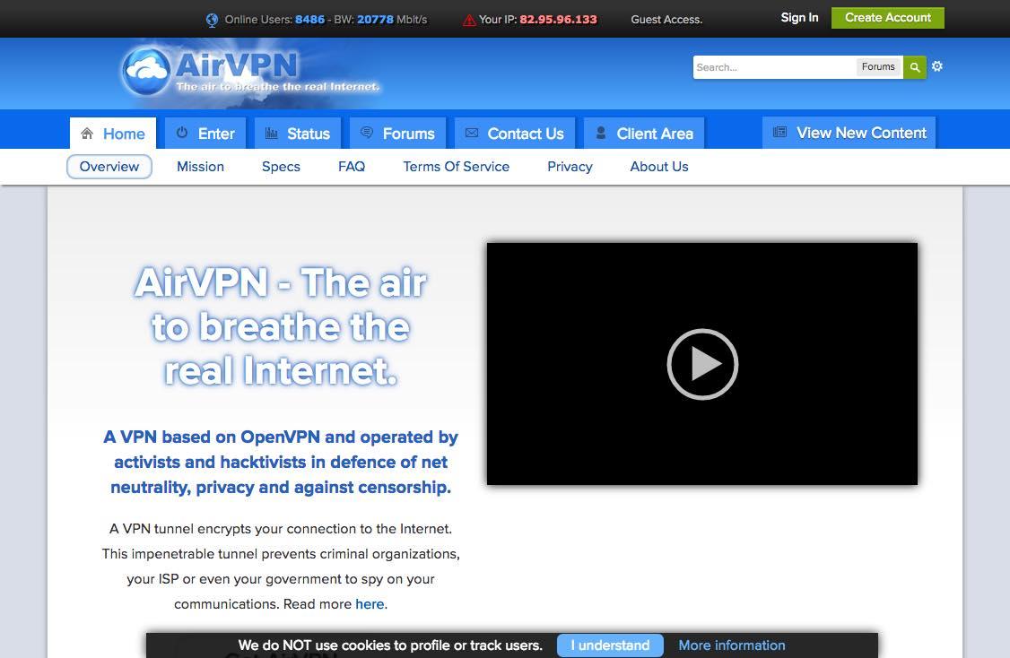 Ari VPN, un service géré par des militants et hacktivistes