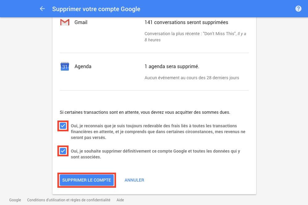 google-supprimer-compte-gmail-confirmation