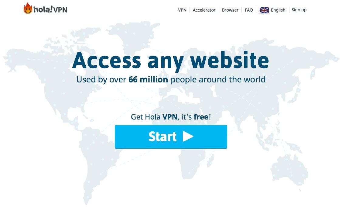 Le service Hola!VPN est l'un des premiers VPN P2P