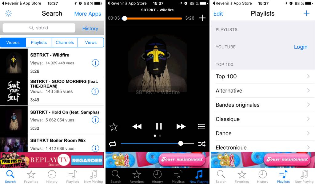 telecharger music pour iphone gratuit
