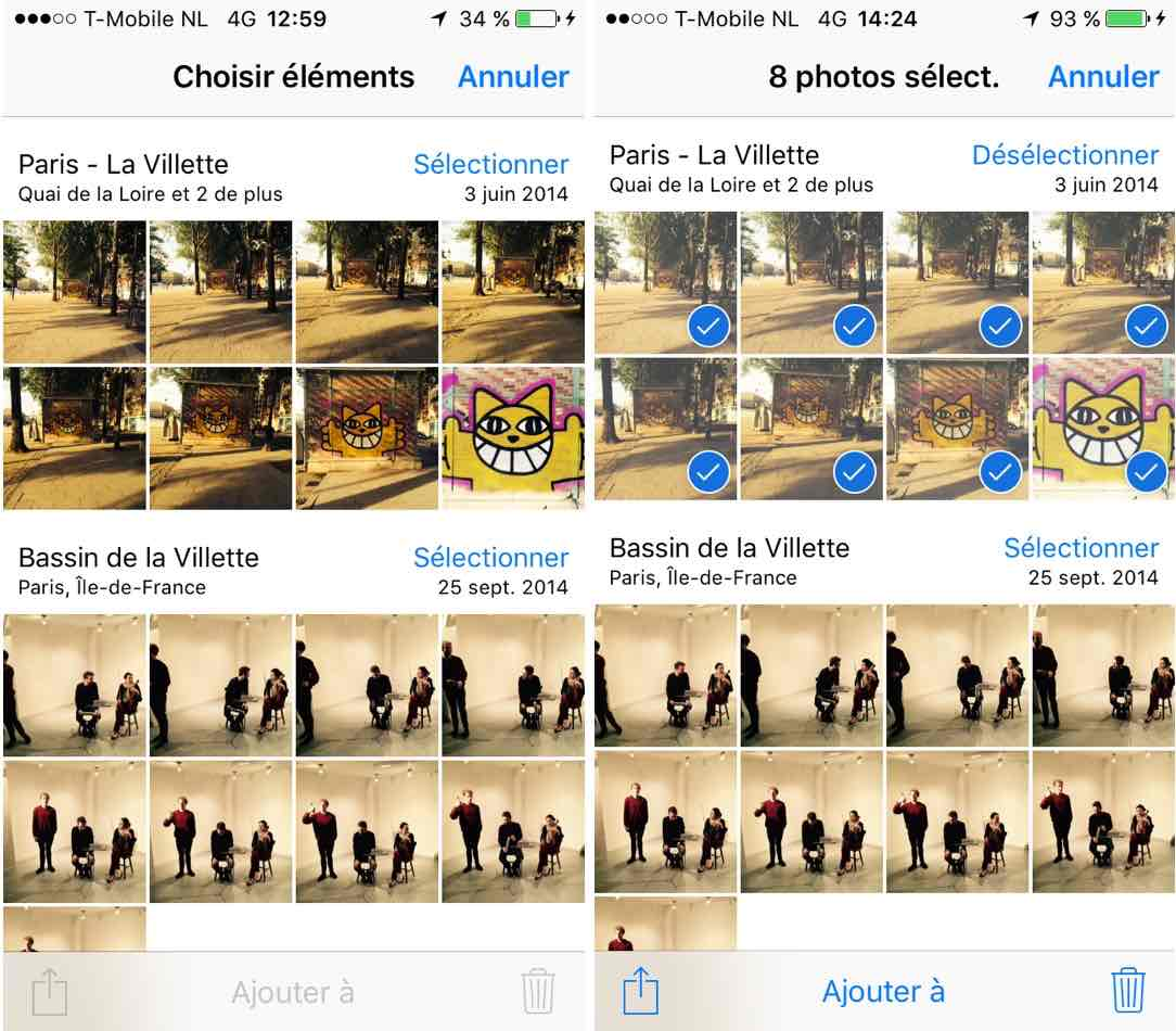 iphone-photos-selectionner