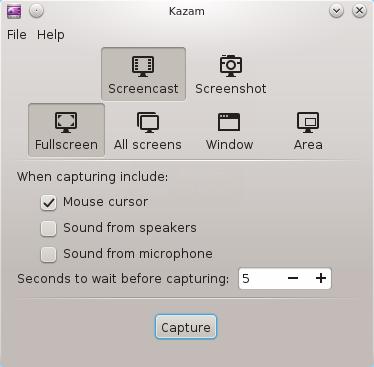 kazam-linux