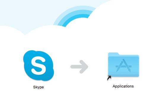 Installation Skype OS X