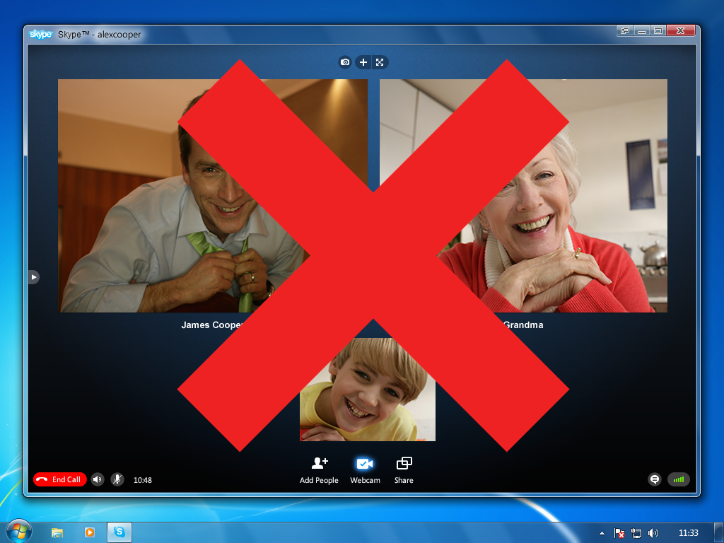 Arnaque sur Skype – Attention !