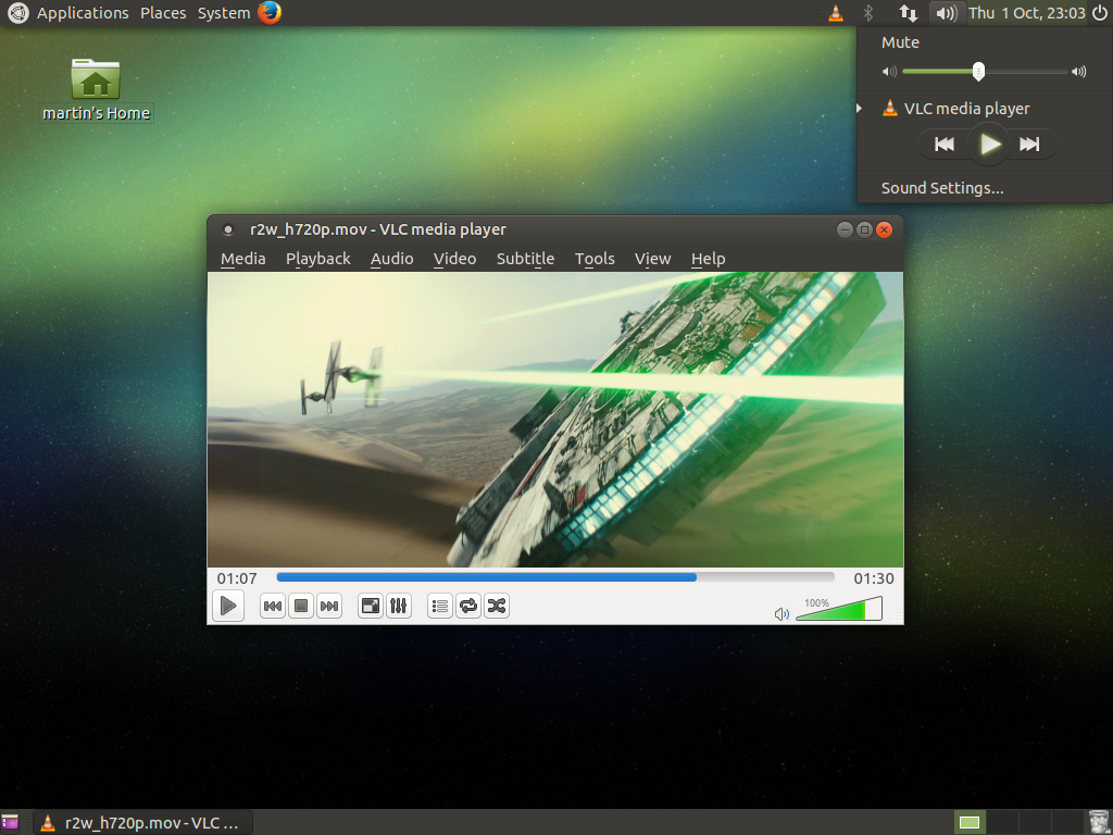 Interface Ubuntu MATE