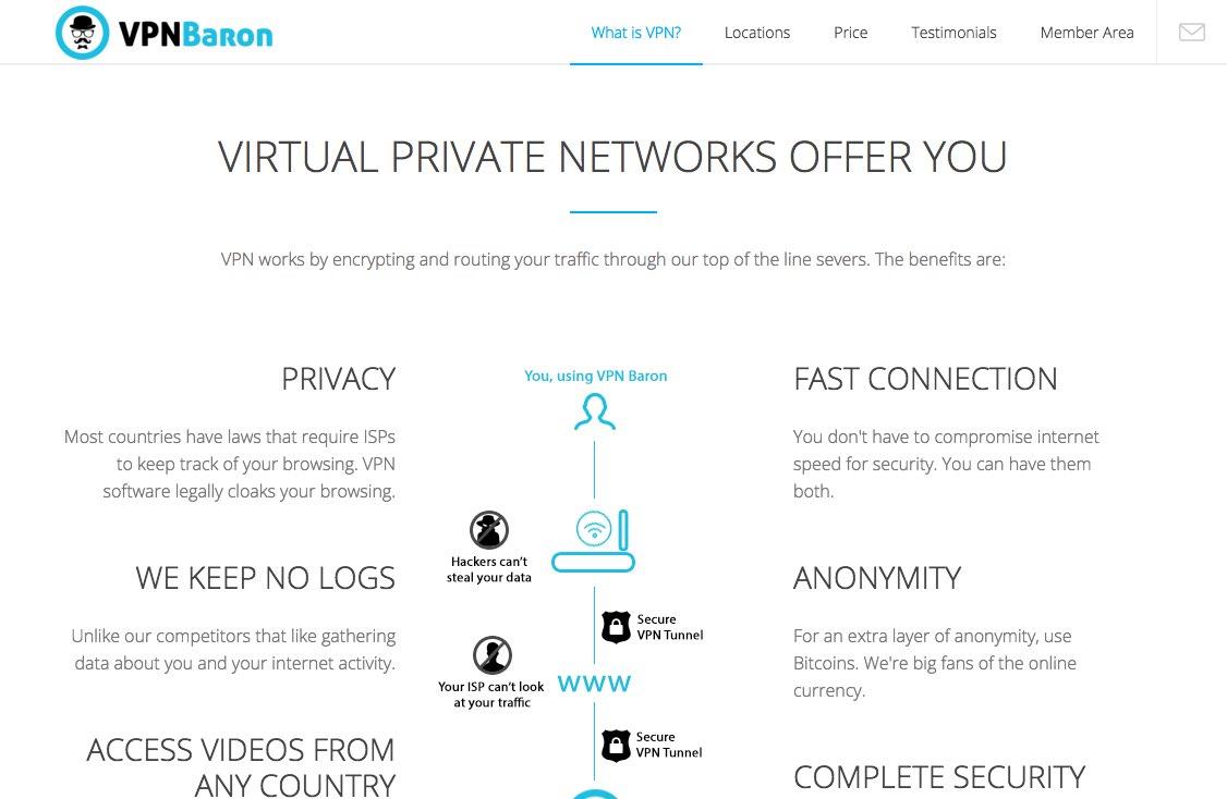 VPN Baron : le spécialiste Netflix US