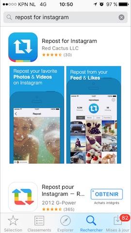 app-store-telecharger-repost-for-instagram