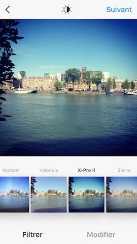 filtres instagram sélection