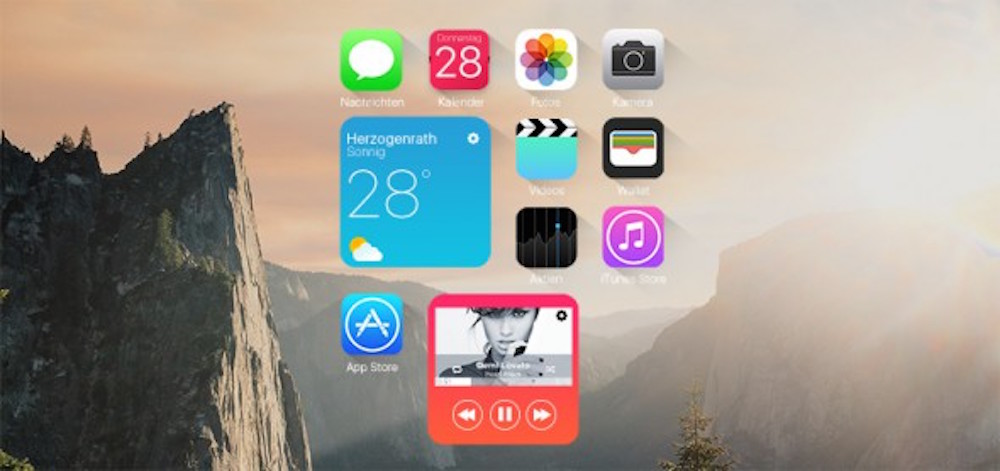 Le SpringBoard iOS 10 tel que l'imagine iPhone-Tricks