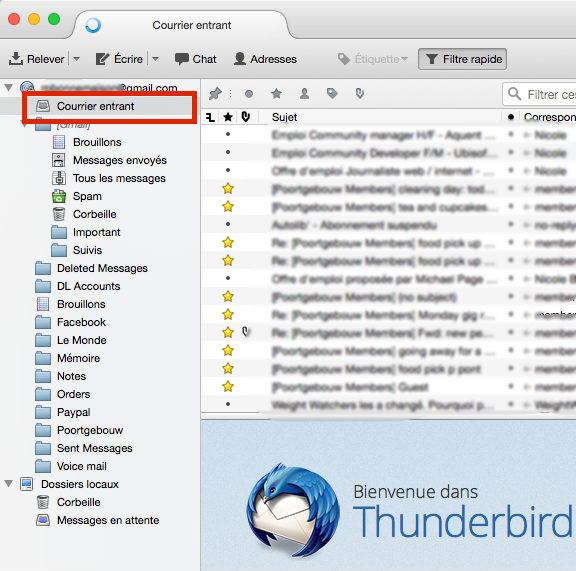 thunderbird-synchroniser-mail