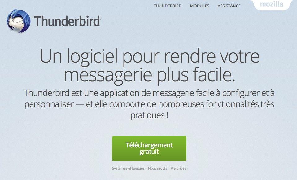 thunderbird-telecharger